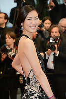 """Liu Wen attending the """"Jagten (The Hunt)"""" Premiere during the 65th annual International Cannes Film Festival in Cannes, France, 20th May 2012...Credit: Timm/face to face /MediaPunch Inc. ***FOR USA ONLY***"""
