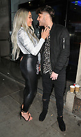 Marnie Simpson, Casey Johnson at the In The Style TOTES OVER IT Valentine's Party, Libertine, Winsley Street, London, England, UK, on Thursday 08 February 2018.<br /> CAP/CAN<br /> &copy;CAN/Capital Pictures