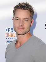 11 August 2016 - Los Angeles, California. Justin Hartley. Clayton Kershaw's 4th Annual Ping Pong 4 Purpose Celebrity Tournament held at Dodger Stadium. Photo Credit: Birdie Thompson/AdMedia