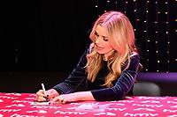Welsh lyric mezzo-soprano singer Katherine Jenkins signs copies of her new album Guiding Light at HMV Oxford Street in London.<br /> <br /> DECEMBER 5th 2018. Credit: Matrix/MediaPunch ***FOR USA ONLY***<br /> <br /> REF: SLI 184515