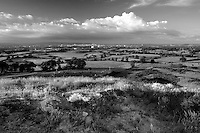 Glasgow and The Campsie Fells from Duncarnock Fort (The Craigie), Barrhead, East Renfrewshire
