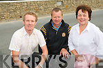Currow Rural Development have embarked on a village enhancement project including the reconstruction of the  historical famine wall which has just been completed. .Pictured L-R Sean Linnane of NEKD Leader/Rural Development programme , Chairperson of Currow Rural Development Peter O'Connor and Kay Daly of Currow Rural Development.