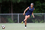 CARY, NC - JUNE 22: Darian Jenkins. The North Carolina Courage held a training session on June 22, 2017, at WakeMed Soccer Park Field 7 in Cary, NC.