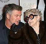 Alec Baldwin and Elaine Stritch attends the 'Elaine Stritch: Shoot Me' screening at The Paley Center For Media on February 19, 2014 in New York City.