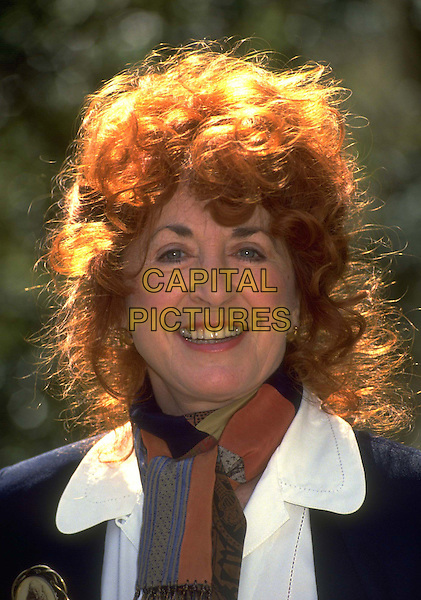 LYNDA LA PLANTE.Ref:420.headshot, portrait.*RAW SCAN - photo will be adjusted for publication*.www.capitalpictures.com.sales@capitalpictures.com.© Capital Pictures