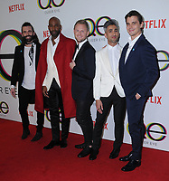 07 February 2018 - West Hollywood, California - Jonathan Van Ness, Kamaro Brown, Bobby Berk, Tan France, Antoni Porowski. &quot;Netflix's &quot;Queer Eye&quot; Season 1 Premiere held at the Pacific Design Center. <br /> CAP/ADM/BT<br /> &copy;BT/ADM/Capital Pictures