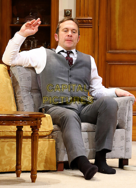 LONDON, ENGLAND - Jason Merrells as 'Bob Phillips' in 'How The Other Half Loves' Photocall at the Theatre Royal Haymarket, London on March 30th 2016<br /> CAP/ROS<br /> &copy;Steve Ross/Capital Pictures