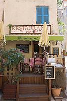 "Europe/France/2A/Corse-du-Sud/Bonifacio: restaurant ""U Castille"""