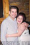 Happy couple Martin Foley and Pamela Carroll celebrate their engagement on New Year's Eve in Matt McCoy's Bar, Abbeyfeale.