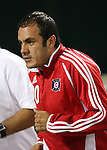 01 November 2007: Chicago's Cuauhtemoc Blanco (MEX). The Chicago Fire tied DC United 2-2 in the second leg of their Major League Soccer Eastern Conference Semifinal playoff series at RFK Stadium in Washington, DC. The Fire advanced to the next round, winning the series 3-2 on aggregate goals.