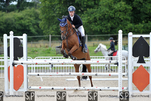 Class 4. Newcomers. British showjumping juniors. Brook Farm Training Centre. Essex. 16/07/2017. MANDATORY Credit Garry Bowden/Sportinpictures - NO UNAUTHORISED USE - 07837 394578