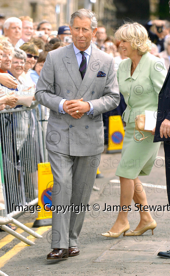 23/06/2005         Copyright Pic : James Stewart.File Name : sct_jspa12 wills graduation.PRINCE CHARLES AND CAMILLLA GREET THE CROWDS AFTER PRINCE WILLIAM'S GRADUATION FROM ST ANDREWS UNIVERSITY......Payments to :.James Stewart Photo Agency 19 Carronlea Drive, Falkirk. FK2 8DN      Vat Reg No. 607 6932 25.Office     : +44 (0)1324 570906     .Mobile   : +44 (0)7721 416997.Fax         : +44 (0)1324 570906.E-mail  :  jim@jspa.co.uk.If you require further information then contact Jim Stewart on any of the numbers above.........
