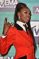 Leomie Anderson<br /> MTV EMA Awards 2017 in Wembley, London, England on November 12, 2017<br /> CAP/PL<br /> &copy;Phil Loftus/Capital Pictures