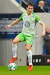 Paul Verhaegh (VfL Wolfsburg #3) am Ball beim Spiel in der Fussball Bundesliga, TSG 1899 Hoffenheim - VfL Wolfsburg.<br /> <br /> Foto &copy; PIX-Sportfotos *** Foto ist honorarpflichtig! *** Auf Anfrage in hoeherer Qualitaet/Aufloesung. Belegexemplar erbeten. Veroeffentlichung ausschliesslich fuer journalistisch-publizistische Zwecke. For editorial use only.