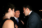 Beverly Hills, California - September 7, 2006.Ben Affleck talks to Joe Spano and wife at the Afterparty for the Los Angeles Premiere of Hollywoodland at the Beverly Hills Hotel..Photo by Nina Prommer/Milestone Photo