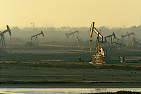 Oil Drilling Pumps Bolsa Chica Wetlands Huntington Beach