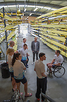 Caversham. Berkshire. UK<br /> The Para Rowing Squad, chat with, Iwan THOMAS host of the That Paralympic Show - All 4 - Channel 4.<br /> 2016 GBRowing, Para Rowing Media Day, UK GBRowing Training base near Reading, Berkshire.<br /> <br /> Friday  15/04/2016<br /> <br /> [Mandatory Credit; Peter SPURRIER/Intersport-images]