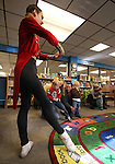 Ryan Walker, 14, performs as the Nutcracker during a special presentation at Storytime at the Carson City Library, in Carson City, Nev. on Thursday, Nov. 29, 2012..Photo by Cathleen Allison