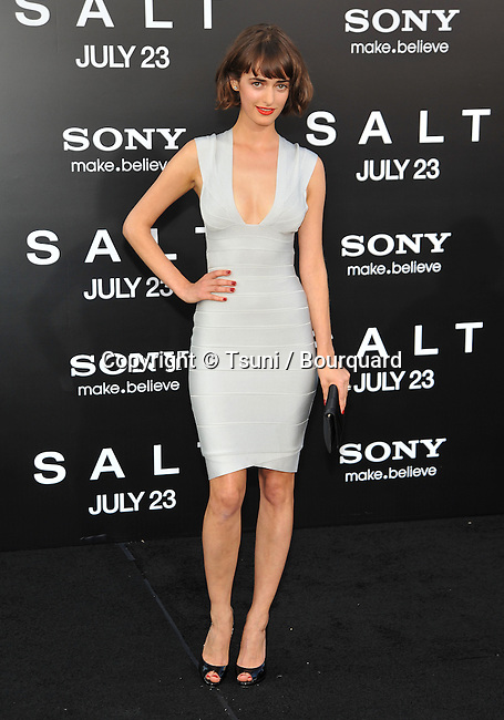 Olya Zueva <br /> Salt Premiere at the Chinese Theatre In Los Angeles.