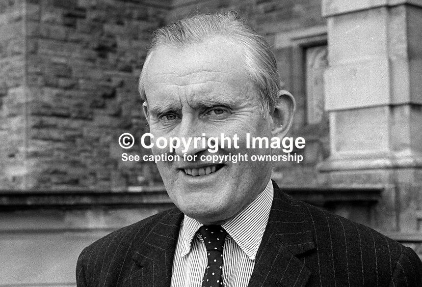 Major James Chichester-Clark, MP, Ulster Unionist, Prime Minister, N Ireland, UK, September, 1970, 197009000325b<br /> <br /> Copyright Image from Victor Patterson,<br /> 54 Dorchester Park, Belfast, UK, BT9 6RJ<br /> <br /> t1: +44 28 90661296<br /> t2: +44 28 90022446<br /> m: +44 7802 353836<br /> <br /> e1: victorpatterson@me.com<br /> e2: victorpatterson@gmail.com<br /> <br /> For my Terms and Conditions of Use go to<br /> www.victorpatterson.com