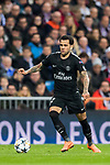 Dani Alves of Paris Saint Germain in action during the UEFA Champions League 2017-18 Round of 16 (1st leg) match between Real Madrid vs Paris Saint Germain at Estadio Santiago Bernabeu on February 14 2018 in Madrid, Spain. Photo by Diego Souto / Power Sport Images