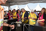 Fans,<br /> JUNE 26, 2014 - Football / Soccer :<br /> Fans enter through the turnstiles before the FIFA World Cup Brazil 2014 Group H match between South Korea 0-1 Belgium at Arena de Sao Paulo in Sao Paulo, Brazil. (Photo by SONG Seak-In/AFLO)
