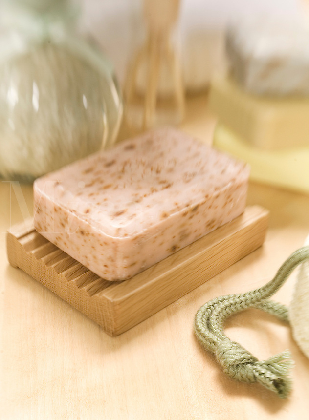 Pink Bath Soap..