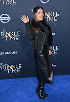 Salma Hayek at the premiere for &quot;A Wrinkle in Time&quot; at the El Capitan Theatre, Los Angeles, USA 26 Feb. 2018<br /> Picture: Paul Smith/Featureflash/SilverHub 0208 004 5359 sales@silverhubmedia.com