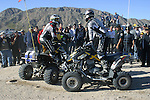 Off-road crash ATV's