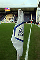 Corner flag at Deepdale. - Preston North End v Stevenage - Deepdale, Preston - 10th December 2011  .© Kevin Coleman 2011 . .