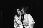 Rita Coolidge and Kris Kristofferson in concert 1978 West Berlin Germany.