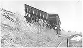 RGS's Burnett and Clifton 2-pocket Coal Chute at Ute Junction.<br /> RGS  Ute Junction, CO  Taken by Richardson, Robert W. - 6/16/1953
