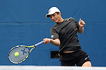 22 March 2015: Wake Forest Maksim Kan. The Duke University Blue Devils hosted the Wake Forest University Demon Deacons at Ambler Stadium in Durham, North Carolina in a 2014-15 NCAA Division I Men's Tennis match. Duke won the match 4-3.