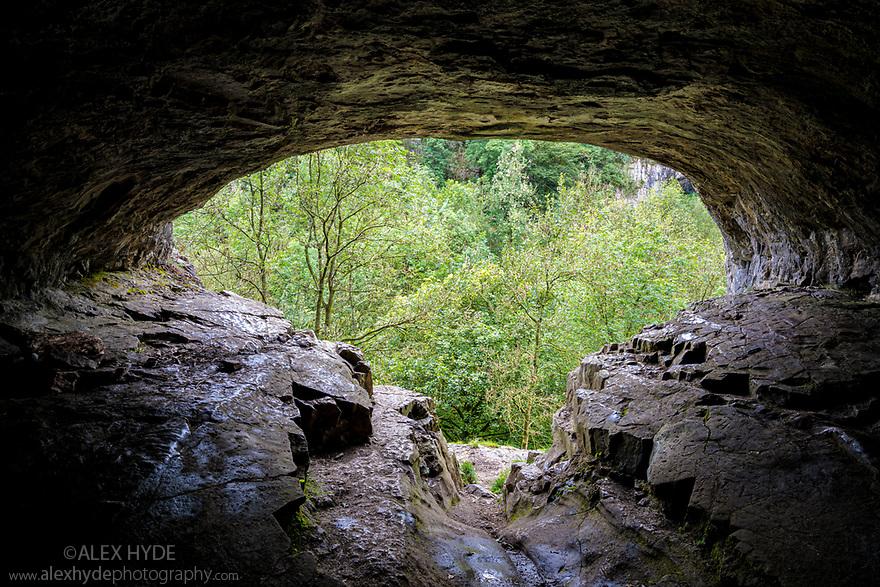 Thirst House Cave, Peak District National Park, Derbyshire, UK. September.