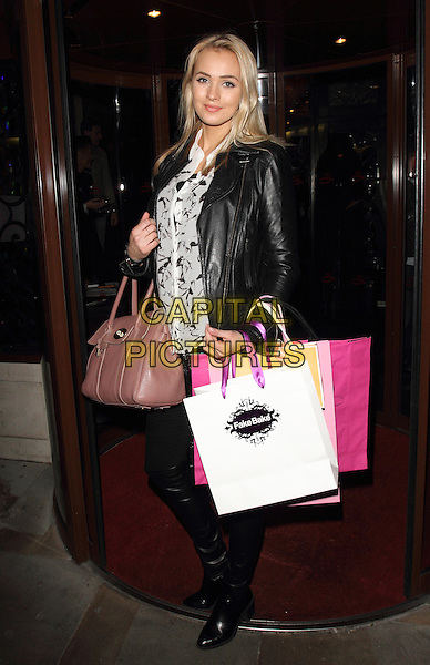 LONDON, UNITED KINGDOM - FEBRUARY 25: Ianthe Rose Cochrane attends the launch of 'Total Mink'. a new brand of ethically produced mink eyelashes at The Sanctum Soho Hotel on February 25, 2014 in London, England<br /> CAP/ROS<br /> &copy;Steve Ross/Capital Pictures