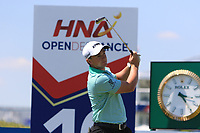 Paul Dunne (IRL) on the 10th tee during Round 1 of the HNA Open De France at Le Golf National in Saint-Quentin-En-Yvelines, Paris, France on Thursday 28th June 2018.<br /> Picture:  Thos Caffrey | Golffile