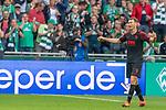 01.09.2019, wohninvest Weserstadion, Bremen, GER, 1.FBL, Werder Bremen vs FC Augsburg, <br /> <br /> DFL REGULATIONS PROHIBIT ANY USE OF PHOTOGRAPHS AS IMAGE SEQUENCES AND/OR QUASI-VIDEO.<br /> <br />  im Bild<br /> <br /> Gelbrote Karzte durch Soeren Storks  (Schiedsrichter / referee) an Stephan Lichtsteiner (FC Augsburg #03) nach einem Foul an Niclas Füllkrug / Fuellkrug (Werder Bremen #11)<br /> <br /> Foto © nordphoto / Kokenge