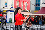 Stan (Wobbly Circus) performing at Culture Night in the Square, Tralee on Friday night last.