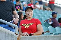 Cary, North Carolina  - Saturday May 12, 2018: North Carolina Courage vs Washington Spirit at Sahlen's Stadium at WakeMed Soccer Park.