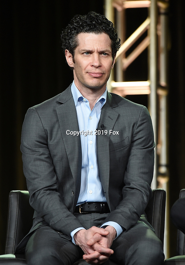 PASADENA, CA - FEBRUARY 4: EP/Director Thomas Kail during the FOSSE / VERDON panel for the 2019 FX Networks Television Critics Association Winter Press Tour at The Langham Huntington Hotel on February 4, 2019 in Pasadena, California. (Photo by Frank Micelotta/FX/PictureGroup)