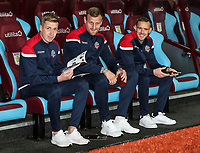 Bolton Wanderers' Josh Vela, David Wheater and Craig Noone <br /> <br /> Photographer Andrew Kearns/CameraSport<br /> <br /> The EFL Sky Bet Championship - Aston Villa v Bolton Wanderers - Friday 2nd November 2018 - Villa Park - Birmingham<br /> <br /> World Copyright &copy; 2018 CameraSport. All rights reserved. 43 Linden Ave. Countesthorpe. Leicester. England. LE8 5PG - Tel: +44 (0) 116 277 4147 - admin@camerasport.com - www.camerasport.com