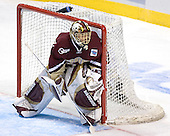 Cory Schneider - The Boston College Eagles defeated the University of North Dakota Fighting Sioux 6-5 on Thursday, April 6, 2006, in the 2006 Frozen Four afternoon Semi-Final at the Bradley Center in Milwaukee, Wisconsin.