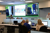 FPL preparing Hurricane Irma at the FPL Command Center in Riviera Beach, Fla. in September 7, 2017.