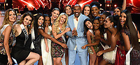 BANGKOK, THAILAND - DECEMBER 16: 2018 MISS UNIVERSE: Host Steve Harvey and contestants during rehearsals for the 2018 MISS UNIVERSE competition at the Impact Arena in Bangkok, Thailand on December 16, 2018. Miss Universe will air live on Sunday, Dec. 16 (7:00-10:00 PM ET live/PT tape-delayed) on FOX.  (Photo by Frank Micelotta/FOX/PictureGroup)