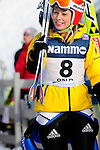 HOLMENKOLLEN, OSLO, NORWAY - March 17: Melanie Faisst of Germany (GER) during the Ladies FIS Ski Jumping World Cup from the large hill HS 134 Holmenkollbakken on March 17, 2013 in Oslo, Norway. (Photo by Dirk Markgraf)