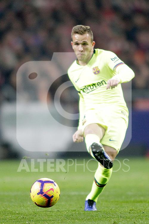 Futbol Club Barcelona's Arthur Melo during La Liga match. November 24,2018. (ALTERPHOTOS/Alconada)