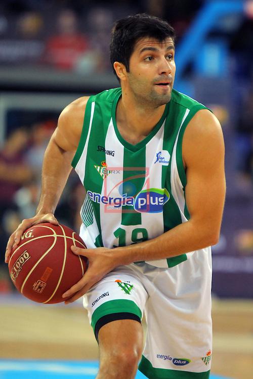 League ACB-ENDESA 2016/2017. Game: 5.<br /> FC Barcelona Lassa vs BEP-Real Betis Energia Plus: 80-58.<br /> Vojdan Stojanovski.