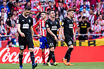 Enrique Garcia of SD Eibar (C) gestures during the La Liga match between Atletico Madrid and Eibar at Wanda Metropolitano Stadium on May 20, 2018 in Madrid, Spain. Photo by Diego Souto / Power Sport Images