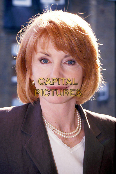 JANE ASHER.Ref: 9030.pearl necklace, smiling, headshot, portrait.www.capitalpictures.com.sales@capitalpictures.com.© Capital Pictures.