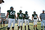 Denton, TX - SEPTEMBER 30: Dylan Lineberry #66, Maurice Holman#41, Johnny Quinn #81 - University of North Texas Mean Green football vs Middle Tennessee Blue Raiders at Fouts Field in Denton on September 30, 2006 in Denton, Texas. MT WON 35-0. (Photo by Rick Yeatts)